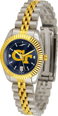 Ladies Georgia Tech Yellow Jackets - Executive AnoChrome Watch