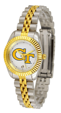 Ladies Georgia Tech Yellow Jackets - Executive Watch