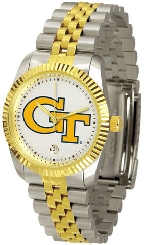 Mens Georgia Tech Yellow Jackets - Executive Watch