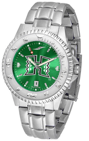 Mens Hawaii Warriors - Competitor Steel AnoChrome Watch
