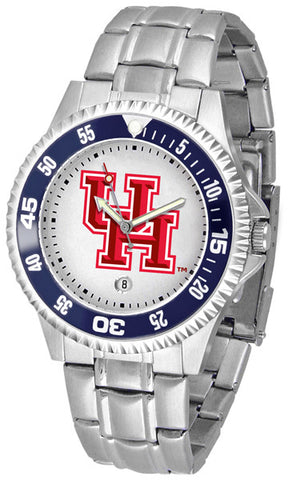 Mens Houston Cougars - Competitor Steel Watch