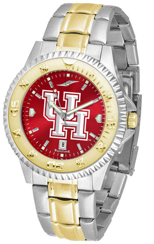 Mens Houston Cougars - Competitor Two Tone AnoChrome Watch