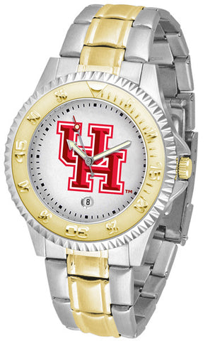 Mens Houston Cougars - Competitor Two Tone Watch