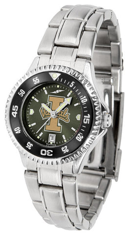 Ladies Idaho Vandals - Competitor Steel AnoChrome Watch - Color Bezel
