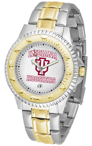 Indiana Hoosiers Men's Competitor Two-Tone Watch