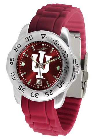 Indiana Hoosiers Sport AnoChrome Watch With Color Band
