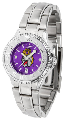 Ladies James Madison Dukes - Competitor Steel AnoChrome Watch