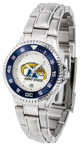 Ladies Kent State Golden Flashes - Competitor Steel Watch
