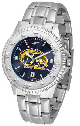 Mens Kent State Golden Flashes - Competitor Steel AnoChrome Watch