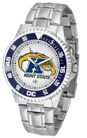 Mens Kent State Golden Flashes - Competitor Steel Watch