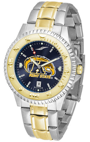 Mens Kent State Golden Flashes - Competitor Two Tone AnoChrome Watch