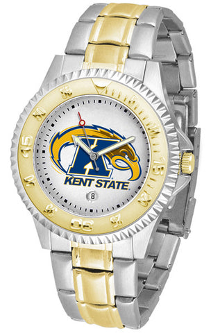 Mens Kent State Golden Flashes - Competitor Two Tone Watch