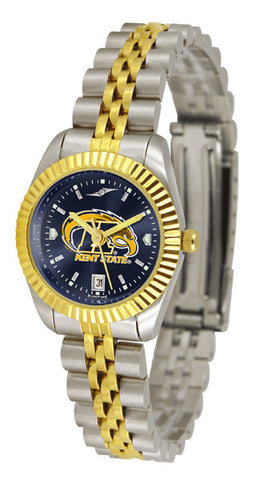 Ladies Kent State Golden Flashes - Executive AnoChrome Watch
