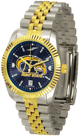 Mens Kent State Golden Flashes - Executive AnoChrome Watch