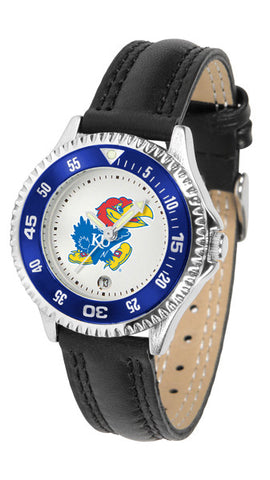 Kansas Jayhawks Ladies Competitor Watch