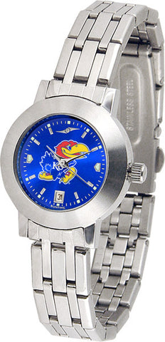 Kansas Jayhawks Ladies Dynasty Watch With AnoChrome Dial