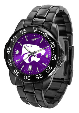 Kansas State Wildcats Fantom Sport Men Watch With AnoChrome Dial