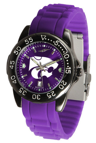Kansas State Wildcats Fantom Sport AC Watch With Color Band