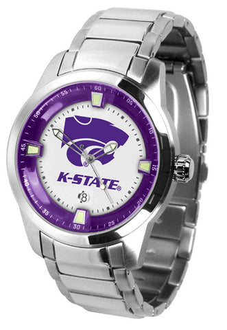 Kansas State Wildcats Titan Men Watch