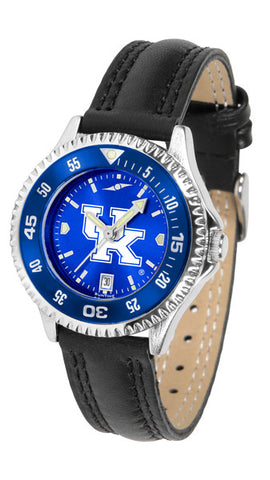 Ladies Kentucky Wildcats - Competitor AnoChrome Watch - Color Bezel