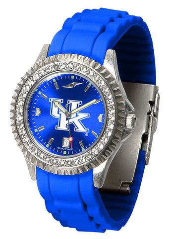 Kentucky Wildcats Sparkle Watch With Color Band