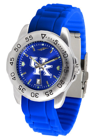 Kentucky Wildcats Sport AnoChrome Watch With Color Band