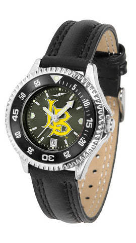 Ladies Long Beach State 49ers - Competitor AnoChrome Watch - Color Bezel