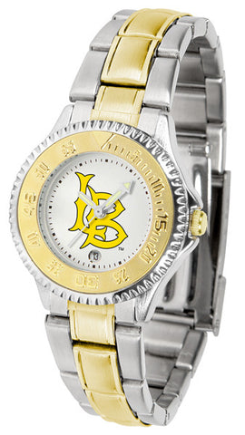 Ladies Long Beach State 49ers - Competitor Two Tone Watch