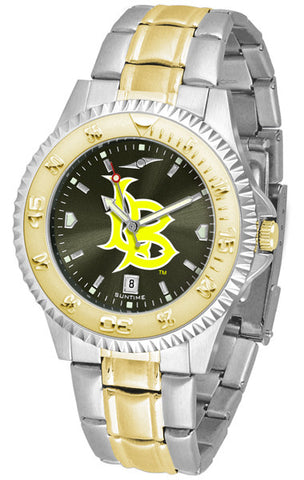 Long Beach State 49ers Mens Or Ladies Competitor Two-Tone Watch With Anochrome Dial