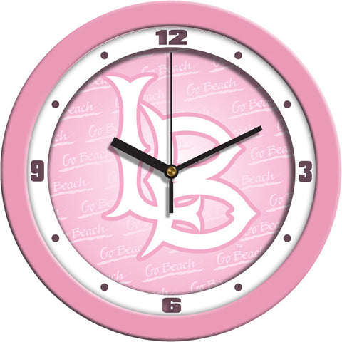 Ladies Long Beach State 49ers - Pink Wall Clock