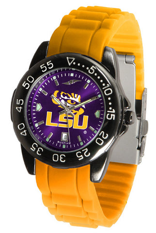LSU Tigers Fantom Sport AC Watch With Color Band
