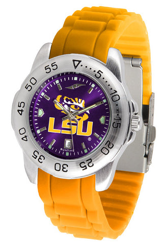 LSU Tigers Sport AnoChrome Watch With Color Band