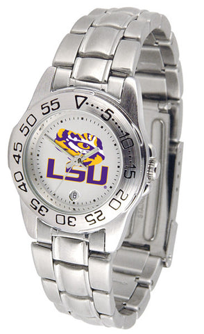 LSU Tigers Ladies Sport Steel Watch