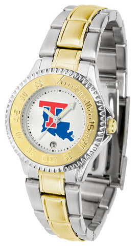 Ladies Louisiana Tech Bulldogs - Competitor Two Tone Watch