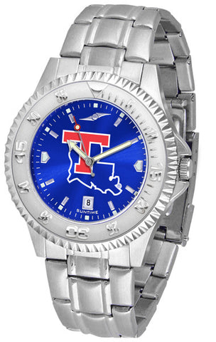 Mens Louisiana Tech Bulldogs - Competitor Steel AnoChrome Watch