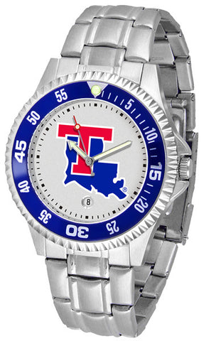 Mens Louisiana Tech Bulldogs - Competitor Steel Watch