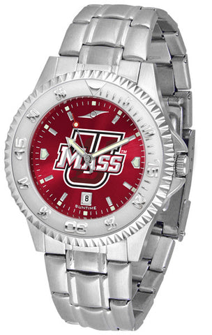 Mens Massachusetts Minutemen - Competitor Steel AnoChrome Watch