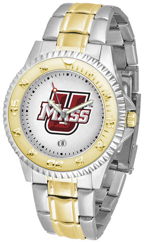 Mens Massachusetts Minutemen - Competitor Two Tone Watch