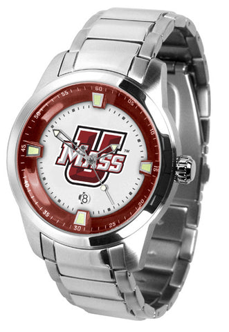 Mens Massachusetts Minutemen - Titan Steel Watch