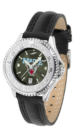 Ladies Maine Black Bears - Competitor AnoChrome Watch