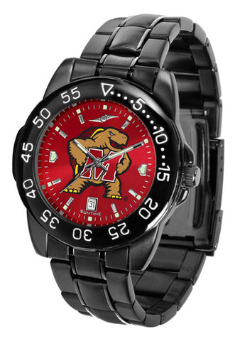 Maryland Terrapins Fantom Sport Men Watch With AnoChrome Dial