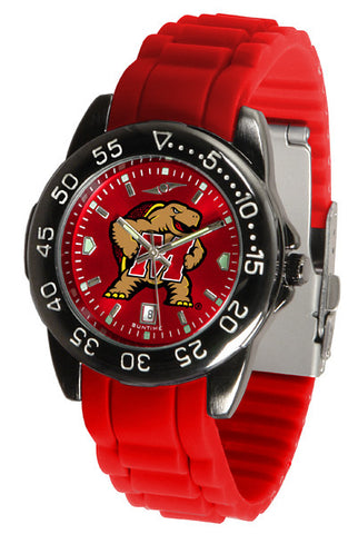 Maryland Terrapins Fantom Sport AC Watch With Color Band