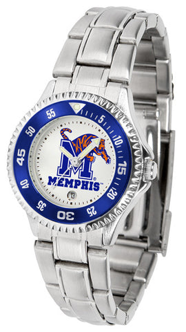 Ladies Memphis Tigers - Competitor Steel Watch