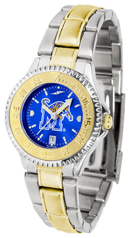 Ladies Memphis Tigers - Competitor Two Tone AnoChrome Watch