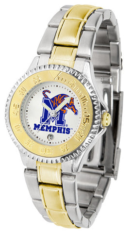 Ladies Memphis Tigers - Competitor Two Tone Watch