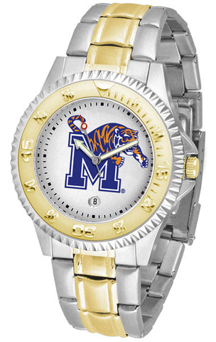 Mens Memphis Tigers - Competitor Two Tone Watch