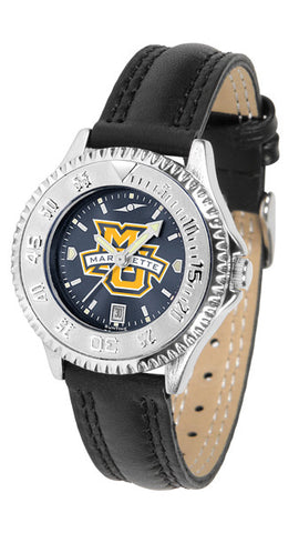 Ladies Marquette Golden Eagles - Competitor AnoChrome Watch