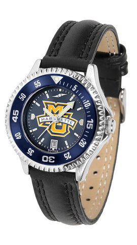 Ladies Marquette Golden Eagles - Competitor AnoChrome Watch - Color Bezel