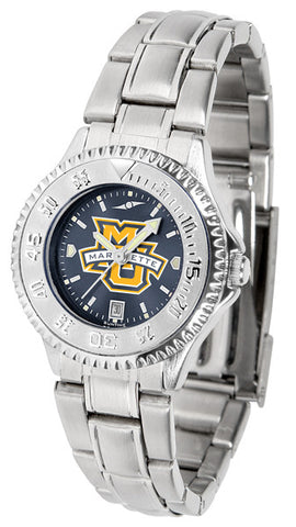 Ladies Marquette Golden Eagles - Competitor Steel AnoChrome Watch