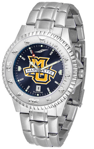 Mens Marquette Golden Eagles - Competitor Steel AnoChrome Watch